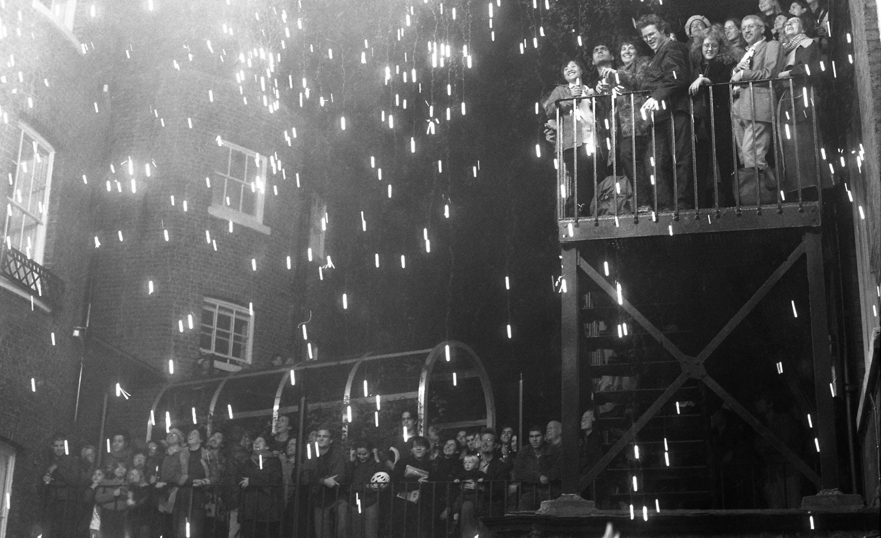 guy fawkes night from Architectural Association