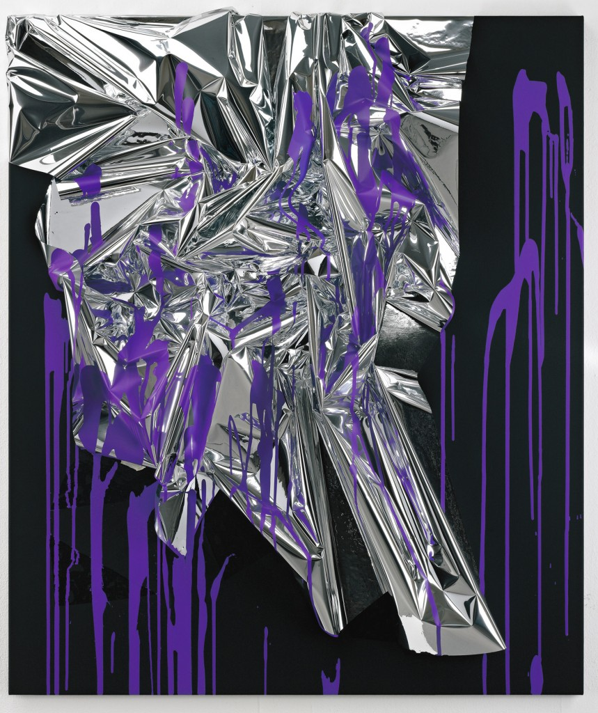 Anselm Reyle - Mystic Silver from Distanz