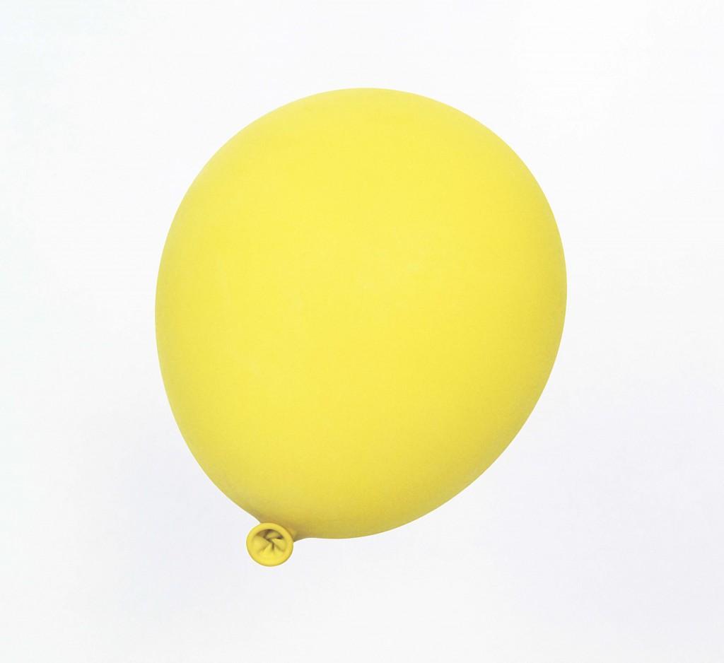 Luftballon (gelb), 1998