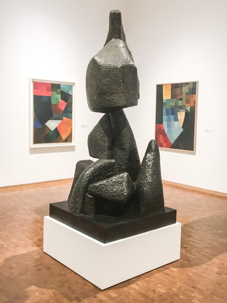 Otto Freundlich, Komposition, Bronze-Sculpture «Aufstieg» (1929/1960), Photo: © Horst und Edeltraut