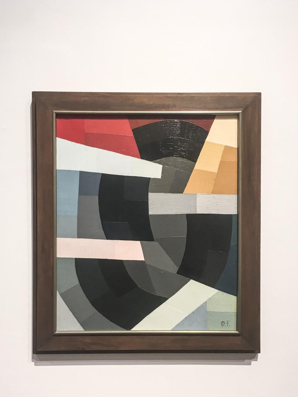 Otto Freundlich, Komposition, 1937, Photo © # Horst und Edeltraut