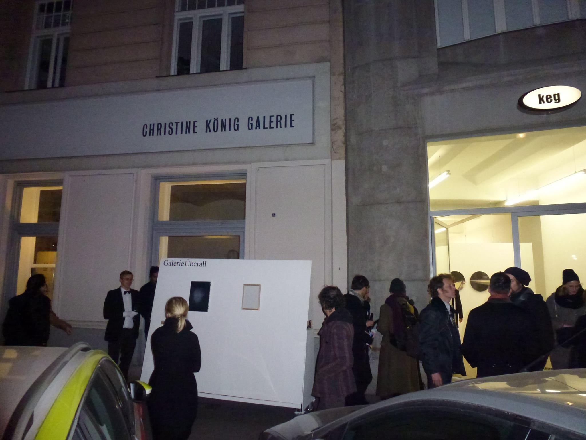 Galerie Uberall at  galerien Rundgang Schleifmuhlgasse, 2015 Vienna
