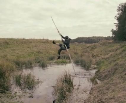 stillshot, Crossing video 2014, © Andrej Polukord