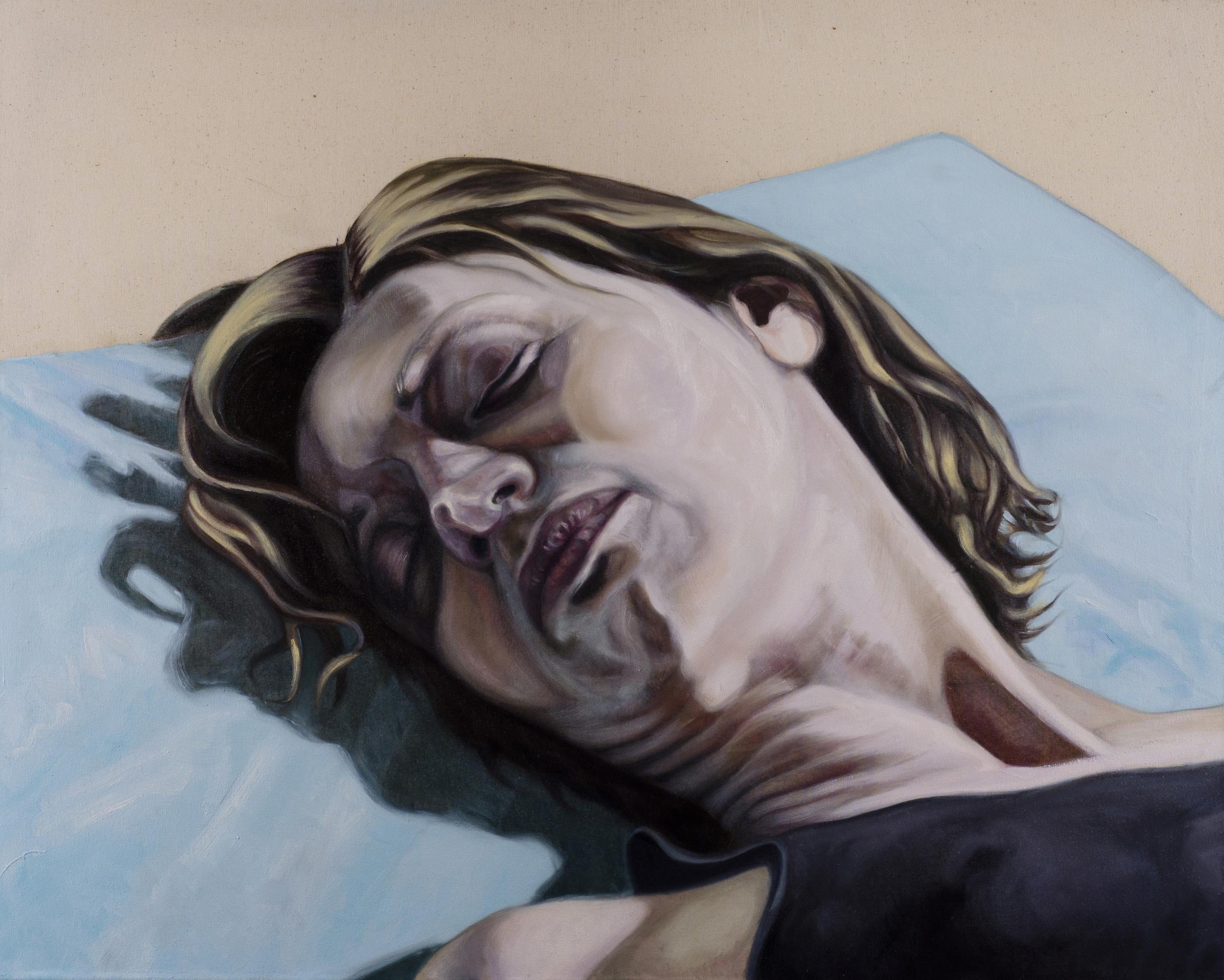 Head, oil on canvas 100x80 cm, 2015