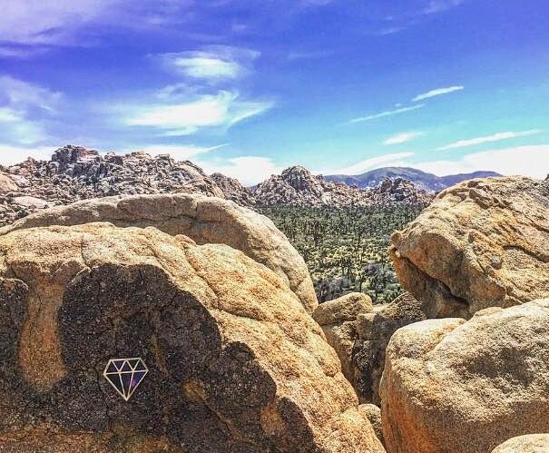 ©Le Diamantaire, Mojave desert, California, 2017