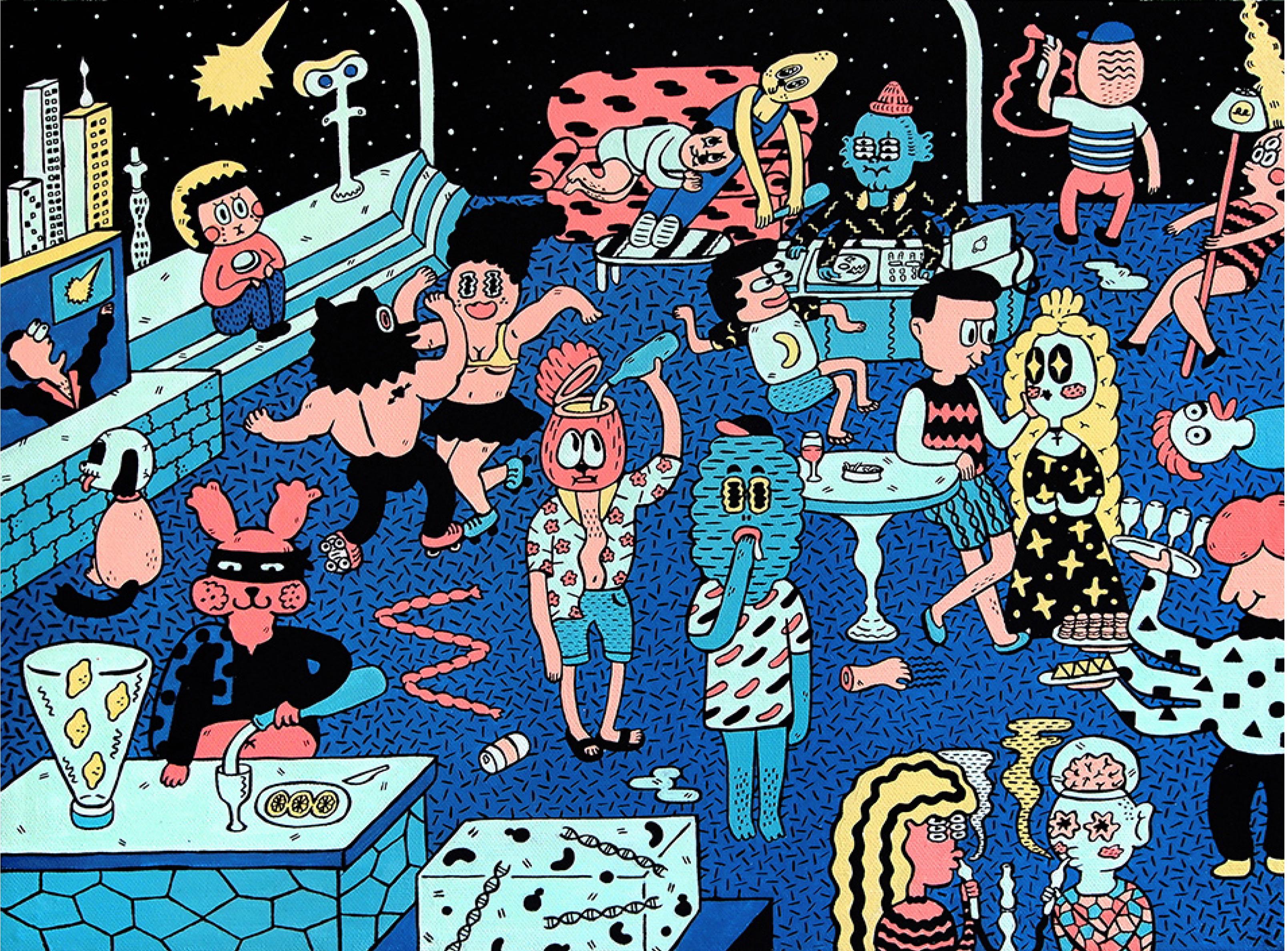 Chaos Party, Soña Lee © 2017