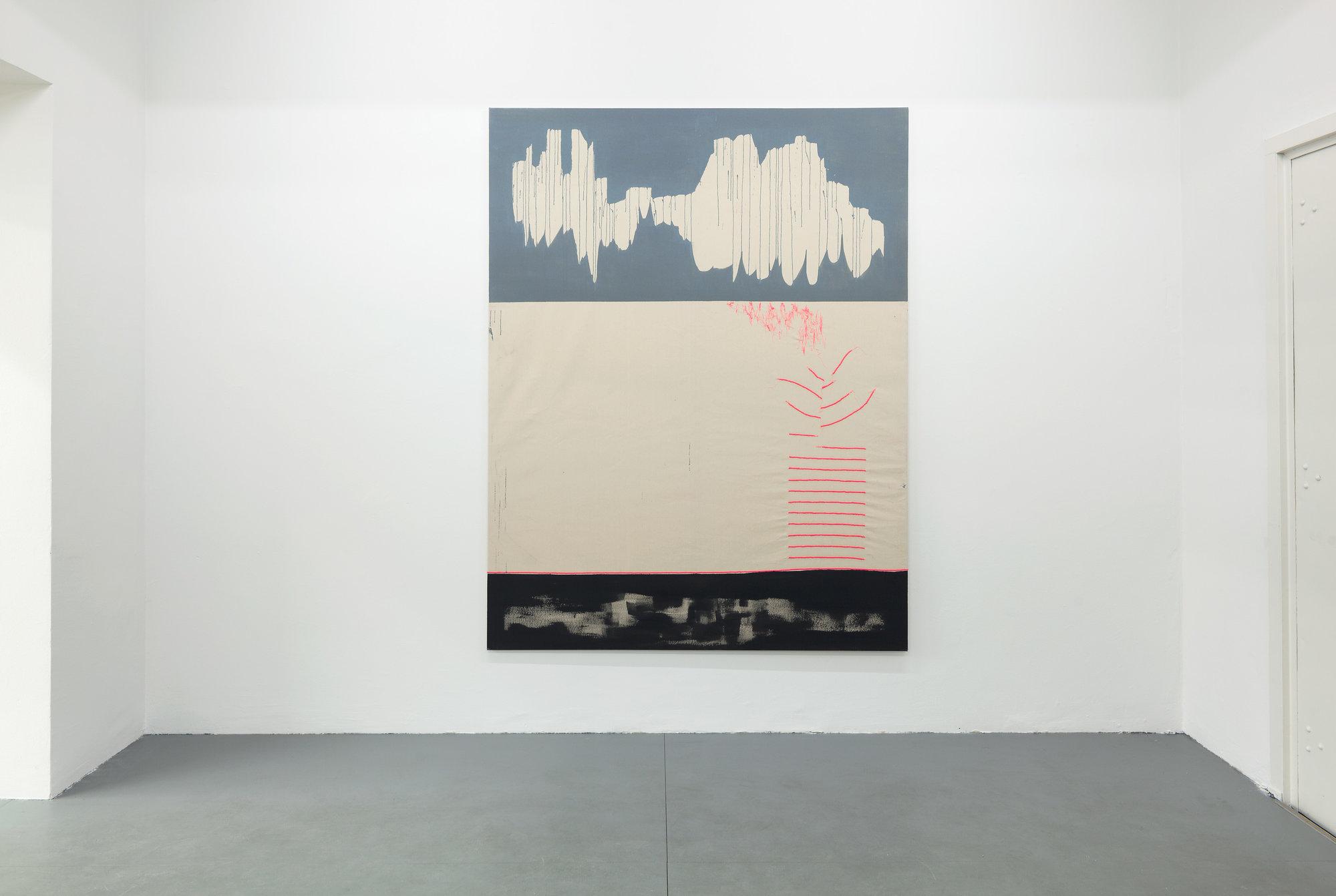 Caroline Corleone, cloud#9, installation view solo show, Krobath Wien, credits Rudolf Strobl, 2016 Courtesy Krobath Wien