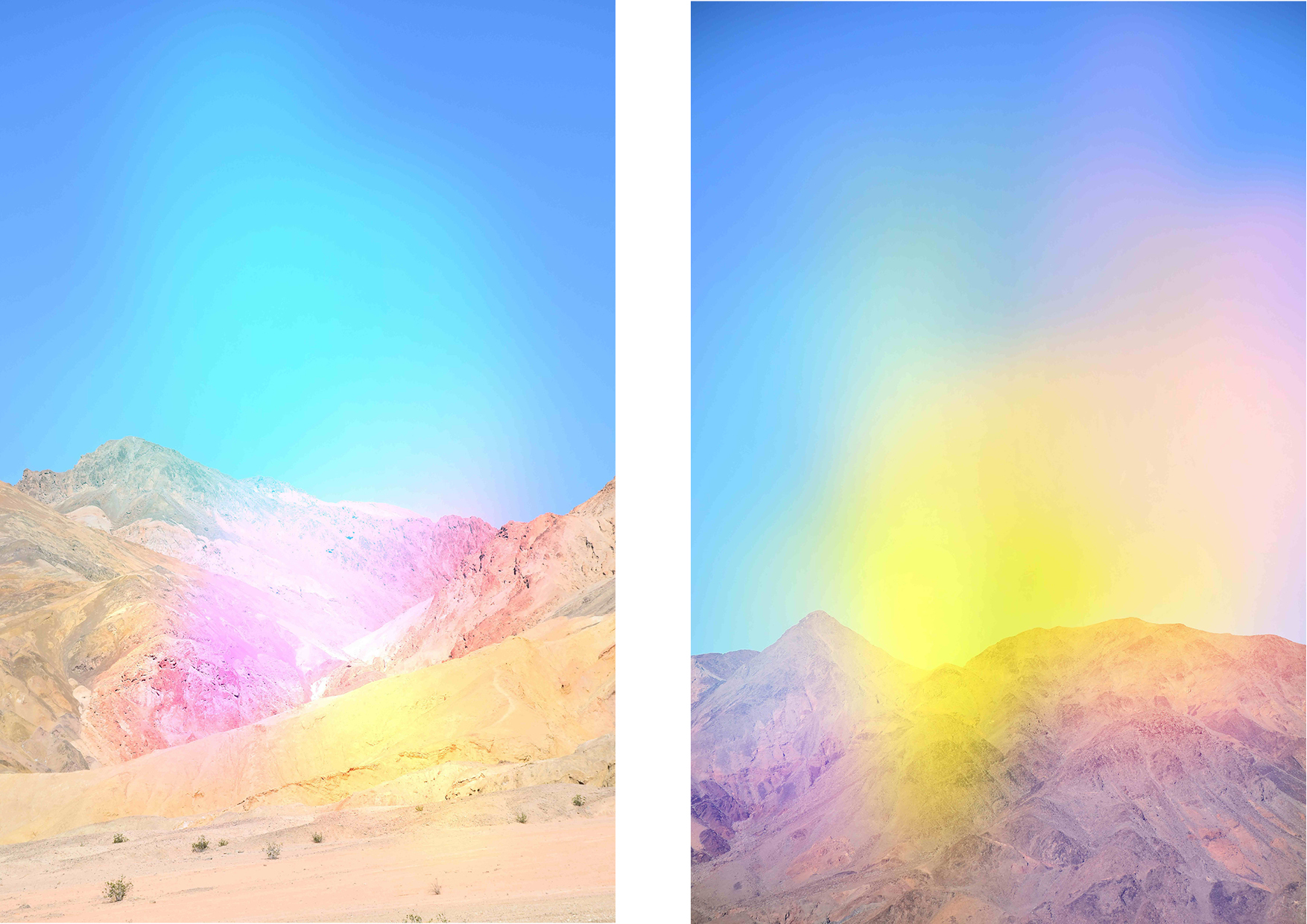Alyssa DePaola Death Valley (Rainbow 1&2) 2017