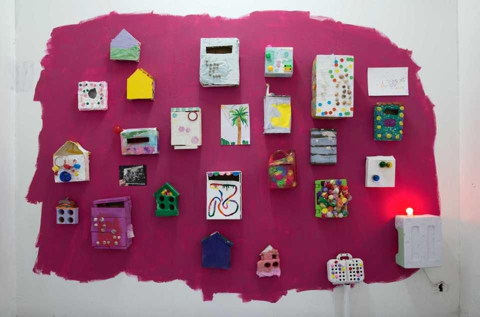 Sivan Lavie, MAIL,2017, solo show installation view, copyright Photographer Flora Deborah