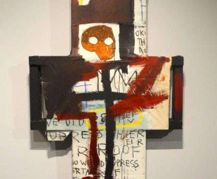 Jean-Michel Basquiat, Crisis X, 1982, photo ©Alexander Moers