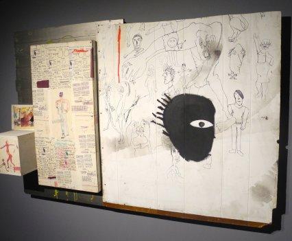 Jean-Michel Basquiat, Embittered, 1986, photo ©Alexander Moers
