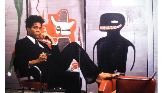 Jean-Michel Basquiat Exhibition photo © Alex Moers
