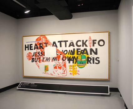 Jean-Michel Basquiat, Heart Attack, 1984, photo ©Alexander Moers