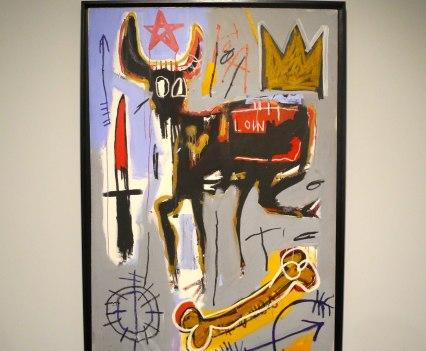Jean-Michel Basquiat, Loin, 1982, photo ©Alexander Moers