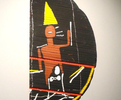 Jean-Michel Basquiat, Untitled (Halfmoon), 1985, photo ©Alexander Moers