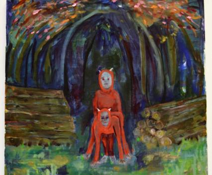 Untitled (devils), Sarah Bastress, 2016
