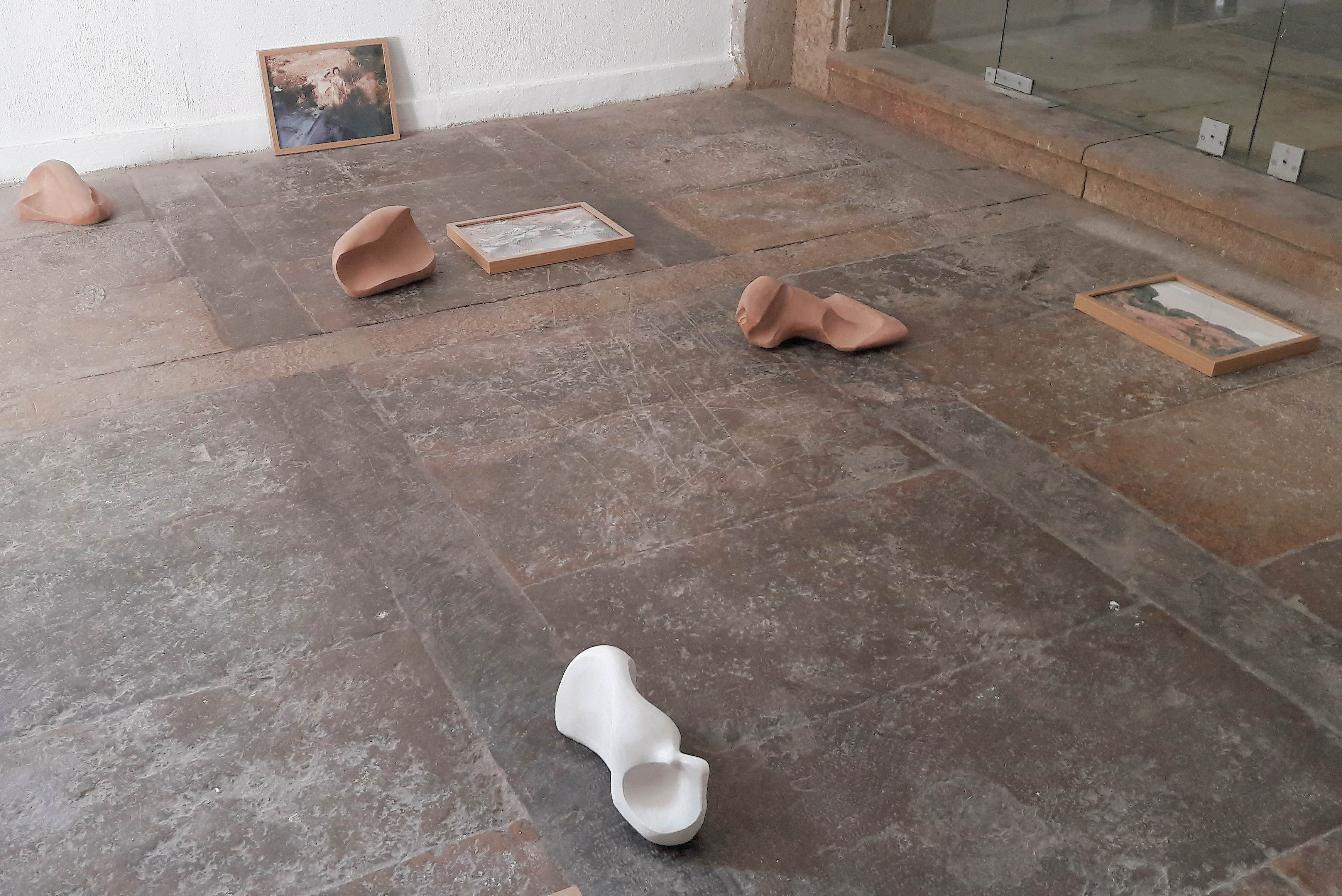 © Carla Souto, Installation view (Obstetra: que cuida Series), 2017