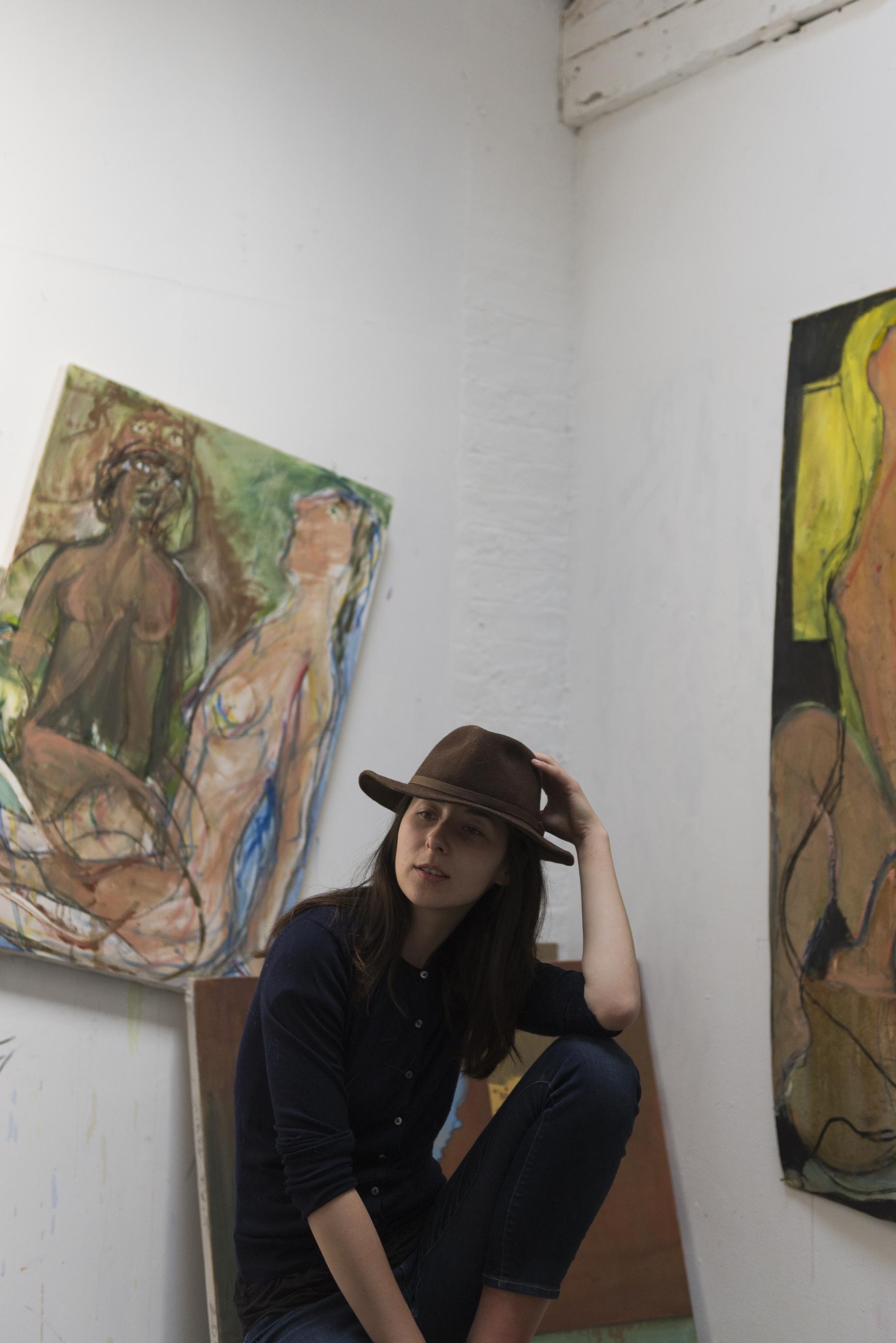 Nikoleta Martjanova,Artist Portrait I,Mike Din