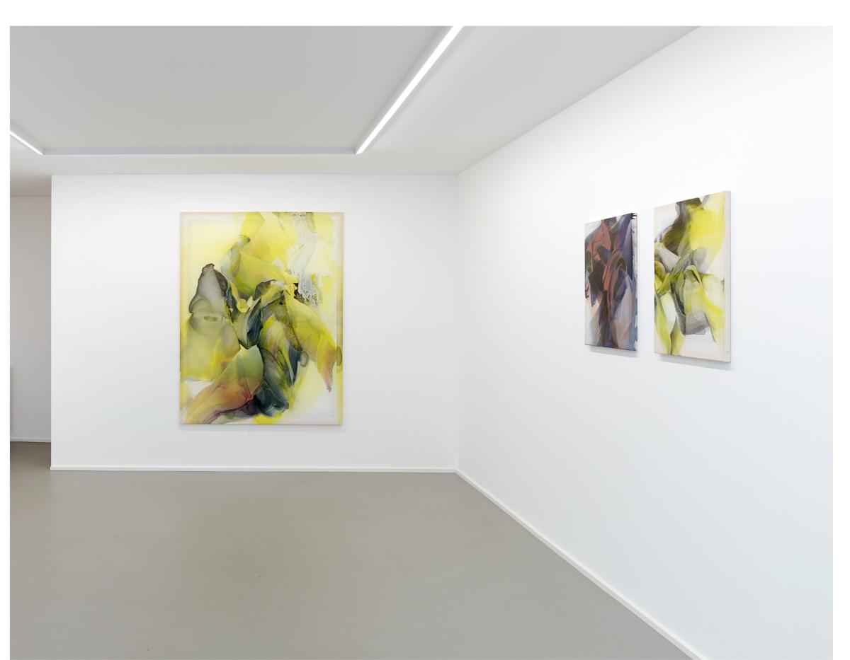 © Natascha Schmitten, Installation view PHOSPHOR, Galerie Christian Lethert, ©2018