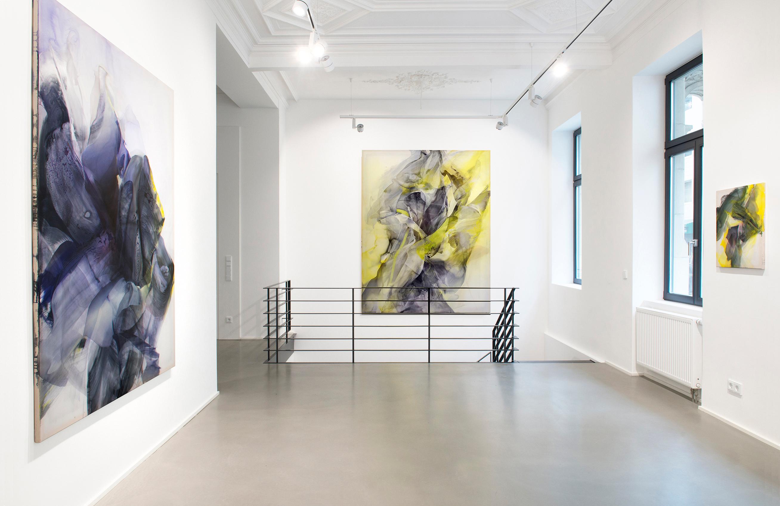 © Natascha Schmitten, Installation view PHOSPHOR, Galerie Christian Lethert, 2018_1
