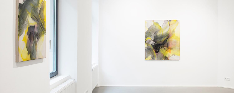 © Natascha Schmitten, Installation view PHOSPHOR, Galerie Christian Lethert, 2018