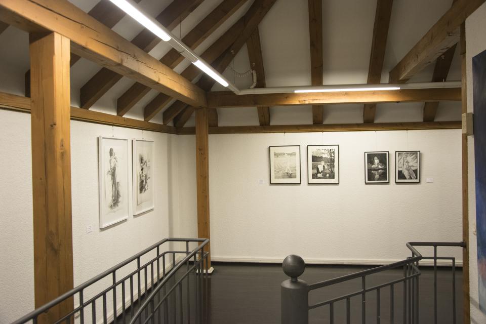 © Kathrin Edwards, Installationview, Bild der Frau Kunstverein Wörth e.V., 2018