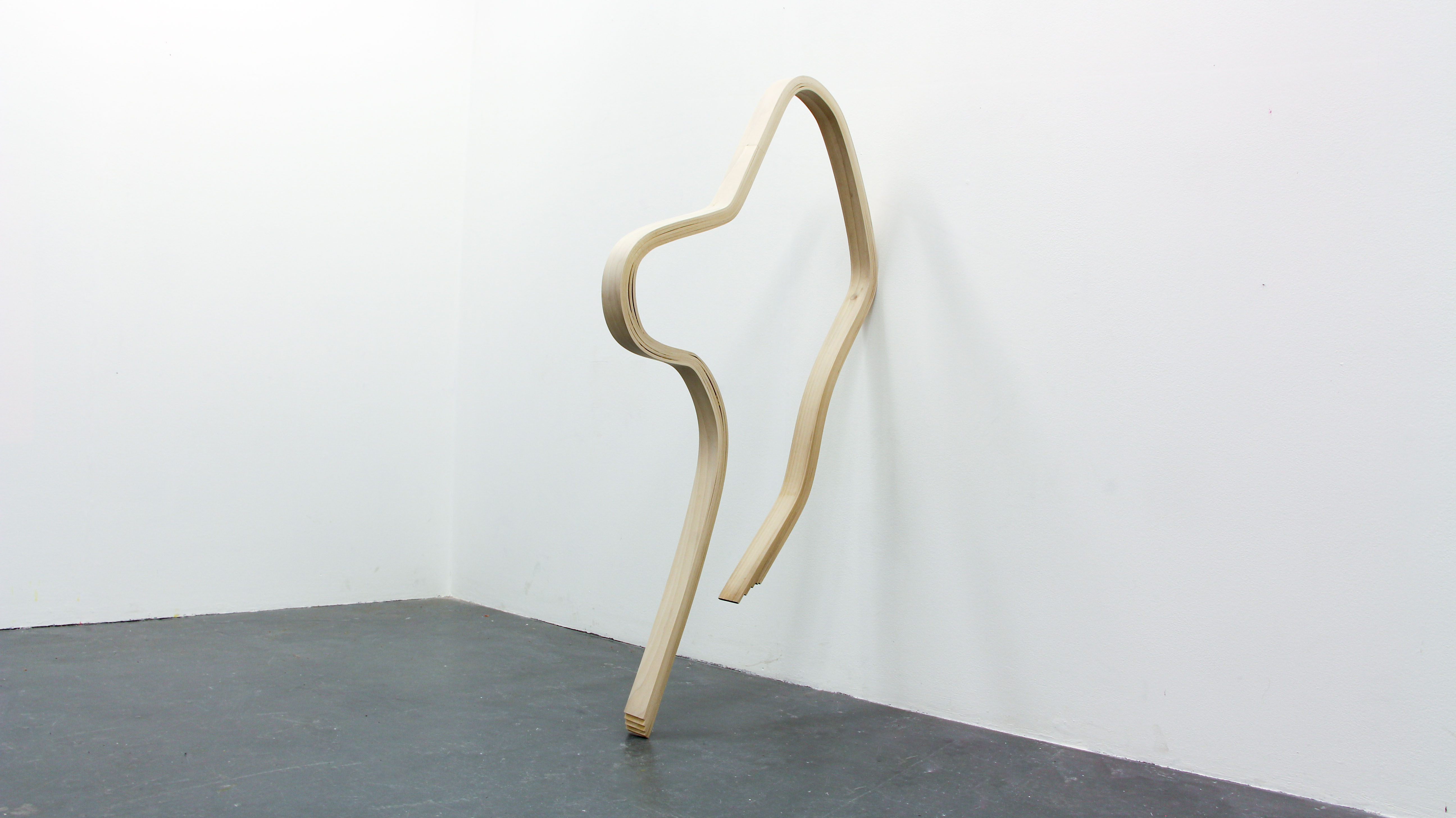 Emily Stollery, Bend, Bend. End to End, 2018