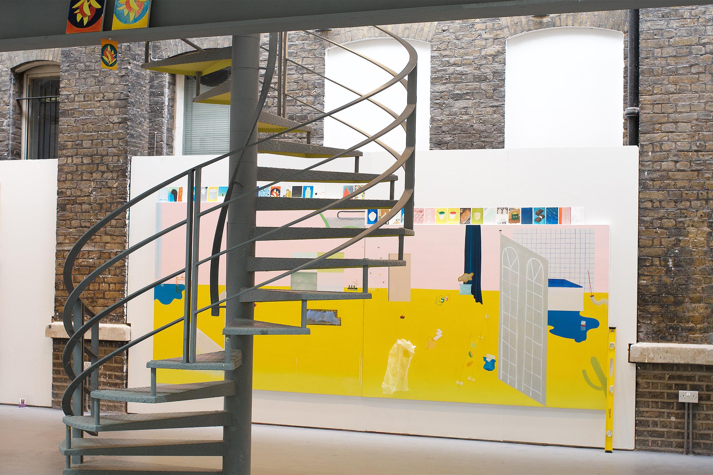 © Ahae Kim, installation view, Slade Graduate degree show, 2018