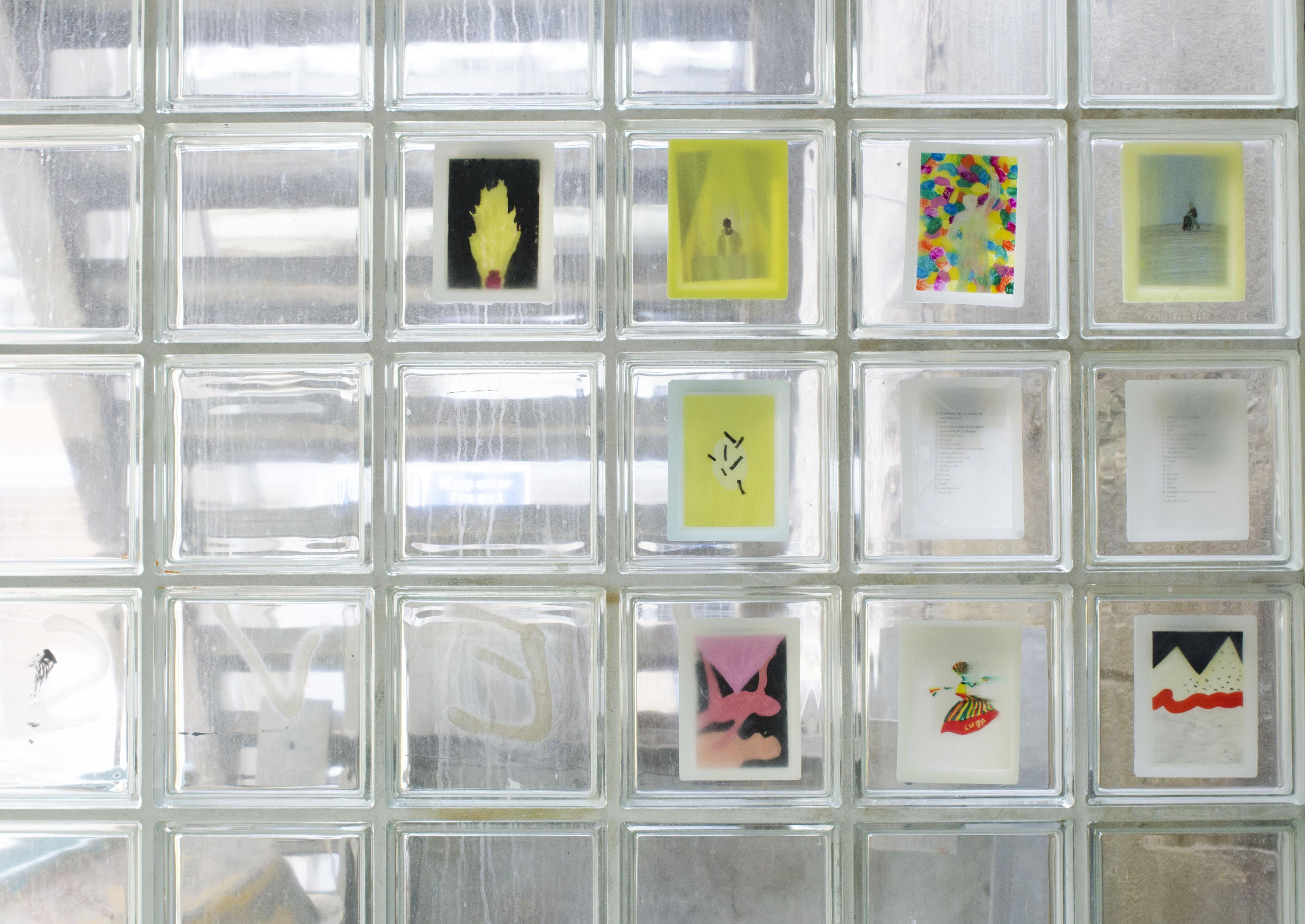 © Ahae Kim, wax series installation view, Slade Graduate Degree show, 2018