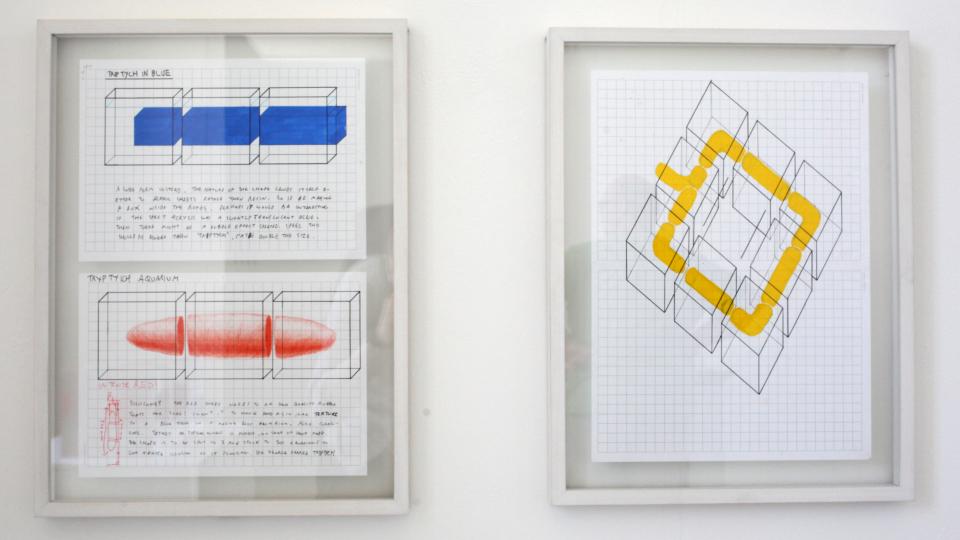 Matthew Rimmer. Diagrams (1&2) 2018. Photography by Declan Malone jpg