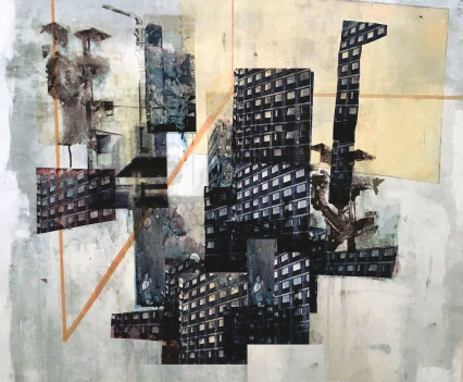 Claire Mcginlay, Anterior Block, 2018