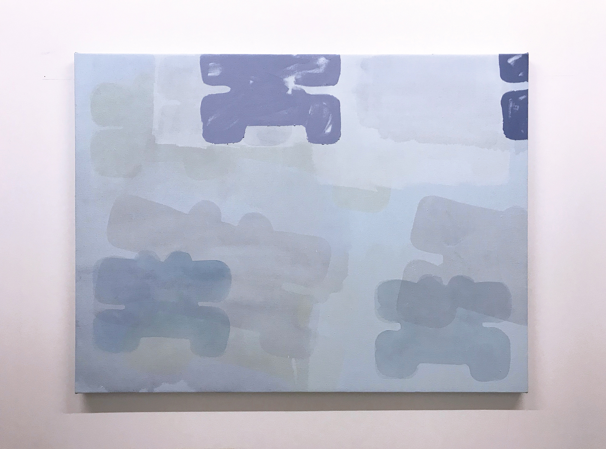 Henry Tyrrell, Blue Control, 2019