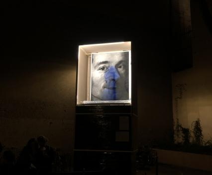 © Valentin van der Meulen, Piédestal, Le Socle, Nuit Blanche, Paris, 2019
