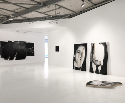 © Valentin van der Meulen, exhibition view D'un surgissement,... L'autre curated by Julien Carbone, Paris, 2019