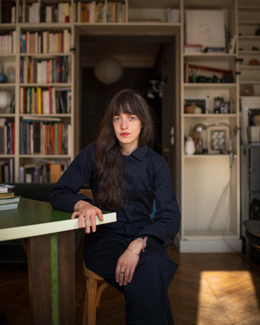 Portrait of Celeste Leeuwenburg, Photography by © Xavier Schwebel, Paris, 2020