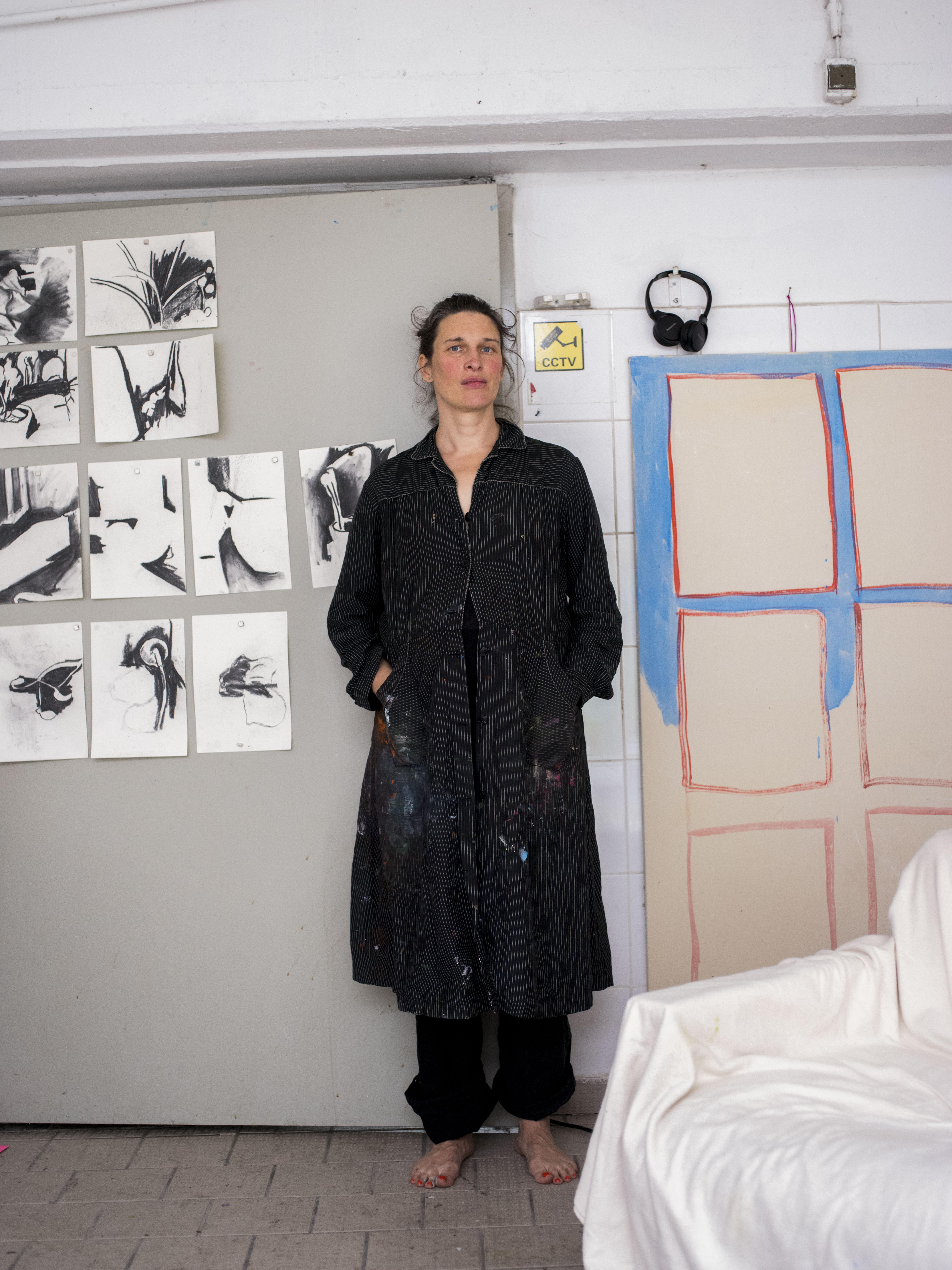 Judith Schmidt in her Studio, Photo ©Kirsten Becken