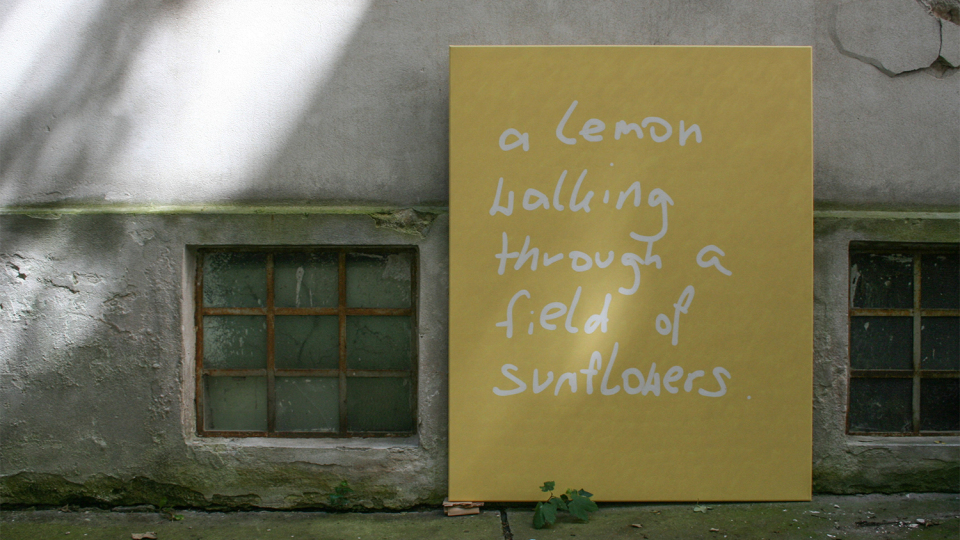 """Illusion sounds like Delusion"", oil on canvas, 120x150 cm, 2020 copyright Jasmin Edelbrunner"