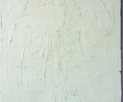 Felix Becker, untitled (Bird), 2019, oil on linen, 190 x 140 cm