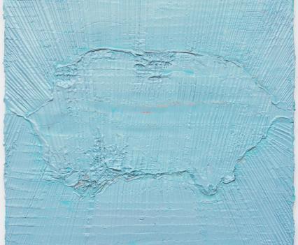 Felix Becker, untitled (Schwein), 2020, oil on canvas, 54 x 47 cm