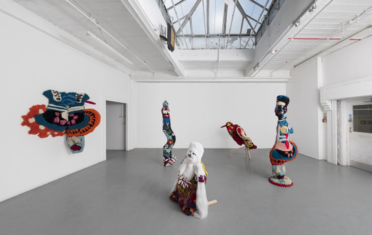 Travel between worlds, installation view, 2020