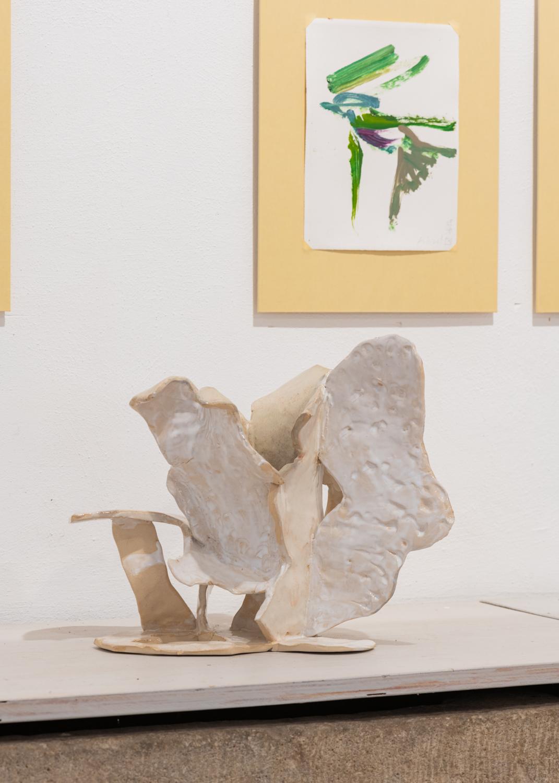 ©Maximilian Neumann, Vase, 2020 Keramik, glasiert 28x32x24cm