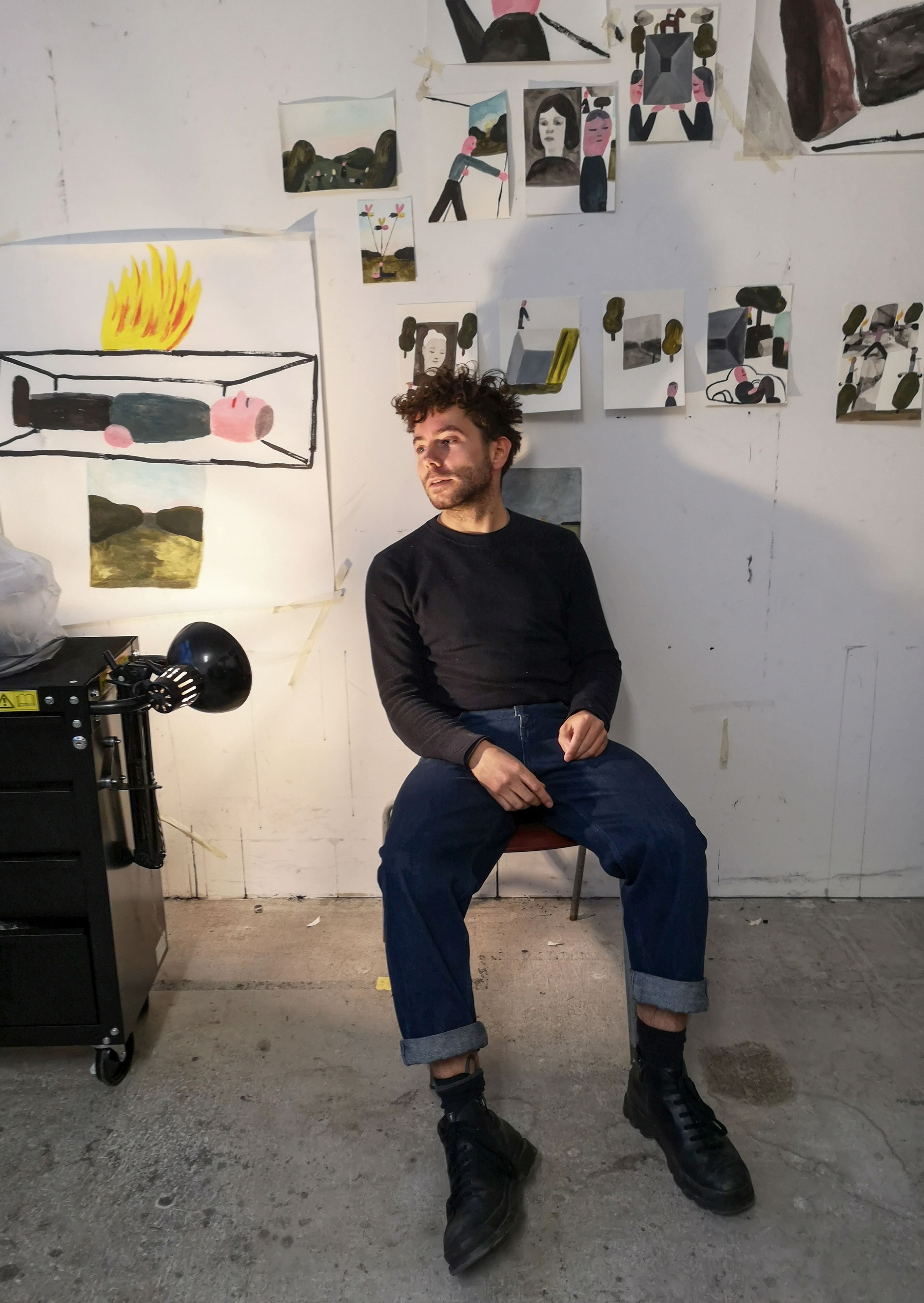Stephan Dybus, Studio, 2021