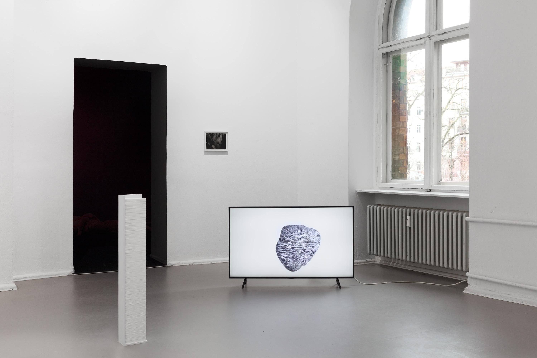 Juliane Tübke, Weathering 2020, Installation view ©CHROMA