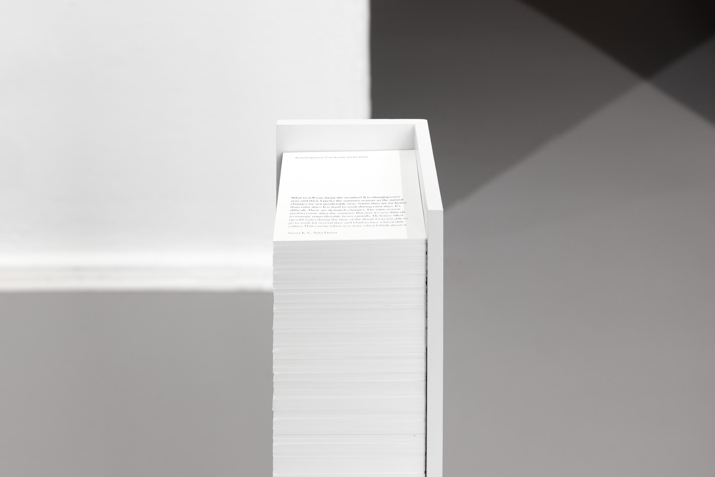 Juliane Tübke, Weathering with 202 0:21 Installation view ©CHROMA