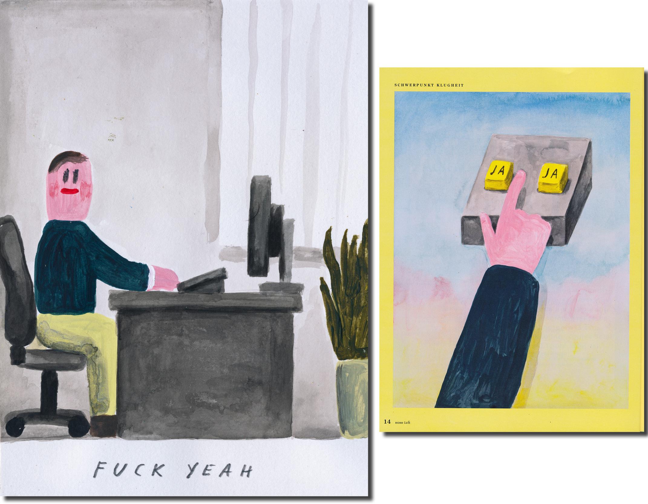Stephan Dybus, Fuck Yeah & Hohe Luft Magazin 2020