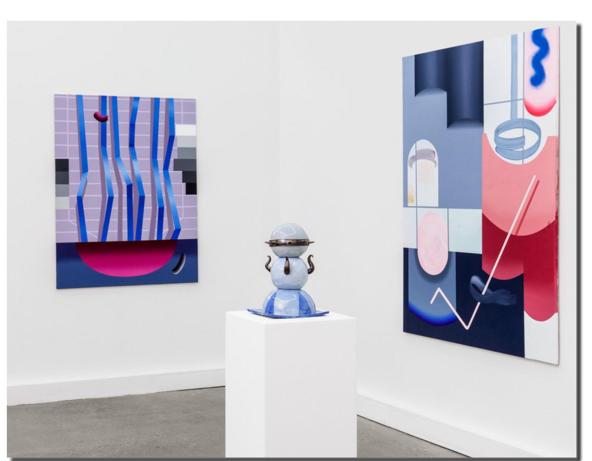 Nero Fingers in Many Pies installation view Berlin 2020 courtesy Galerie Feldbusch Wiesner Rudolph ANNA NERO